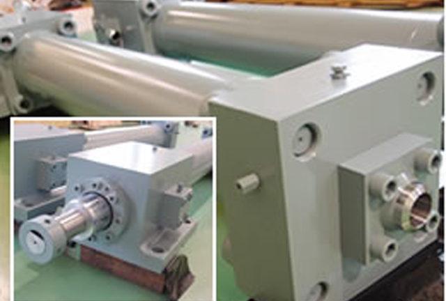 高出力・高圧用油圧シリンダー